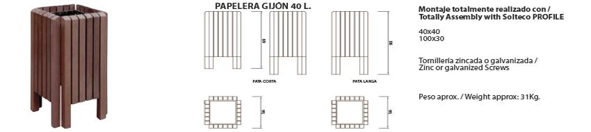 Papelera-Gijón 40