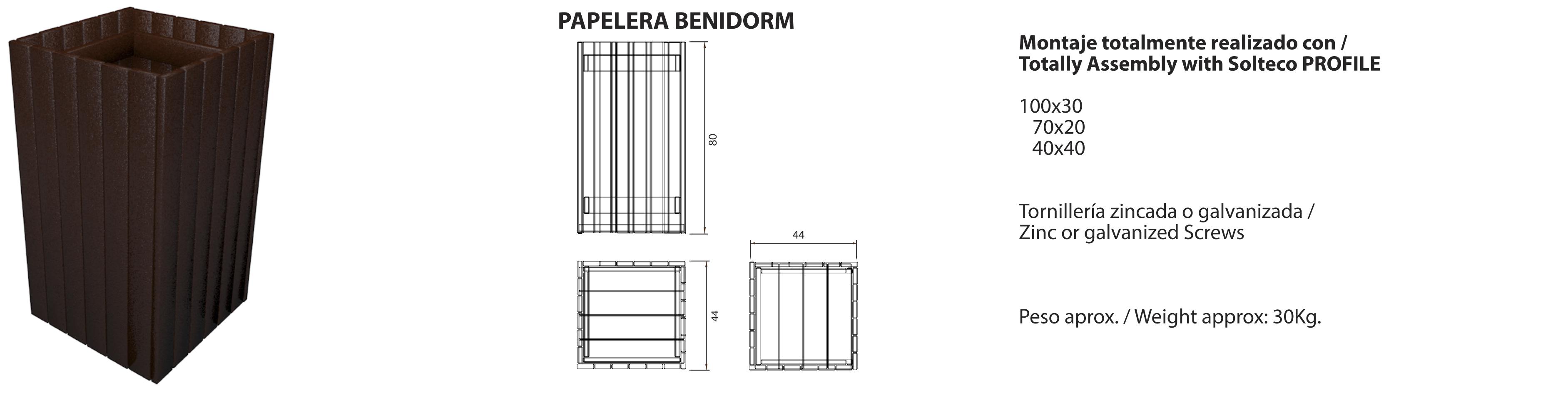 Papelera-Benidorm